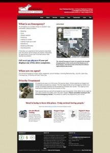 Bend Animal Emergency Center Website