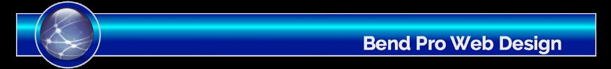 Bend Pro Web Design