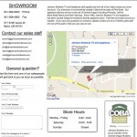 Johnson Brothers Appliances Contact Page