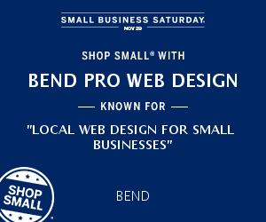 Small Business Saturday Bend Pro Web Design