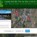 Litter Free Bend homepage