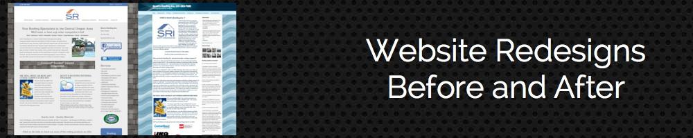 Recent Website Redesigns