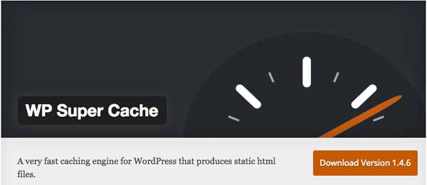 WordPress caching WP Super Cache